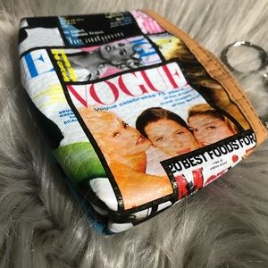 90s Vogue Supermodel Coin Purse